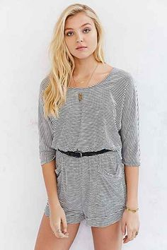 BDG Dolman Sleeve Knit Romper - Urban Outfitters