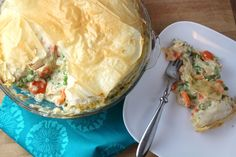 I'm like the Macguver of cooking - bring me a piece of bread, cabbage, coconut, mustard greens, pigs feet, pine cones...and a woodpecker, and I'll make you a good chicken pot pie.  Seriously, Portioned and Healthy Chicken Pot Pies is perfect for staying on track with healthy eating and having that great comfort food.