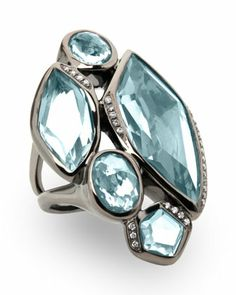 Wicked 5-Stone Blue Topaz Ring, Size 7 by Ippolita at Neiman Marcus Last Call.