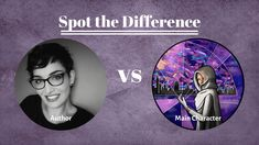 Spot the Differences - Writer vs Main Character Find People, Kinds Of People, Feeling Trapped, Kindred Spirits, Medical Field, Her World, Main Character, Coping Mechanisms, Warfare