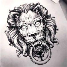 Resultado de imagen para lion warrior tattoo