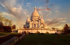 Basilica of the Sacred Heart of Paris, known as Sacré-Cœur Basilica is a Roman Catholic church & minor basilica, dedicated to the Sacred Heart of Jesus, in Paris, France. The basilica is located at the summit of the butte Montmartre. Sacré-Cœur is a double monument, political & cultural, both a national penance. The Sacré-Cœur Basilica was designed by Paul Abadie. Construction began in 1875 and was finished in 1914. It was consecrated after the end of World War I in 1919.