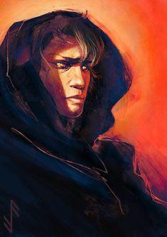 Anakin's fall to the Dark Side by Aquila--Audax