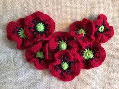 flower knitting pattern - Google Search
