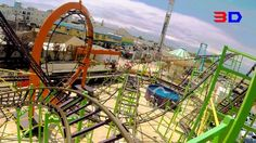 Looping Star 3D front seat on-ride HD POV @60fps Keansburg Amusement Park