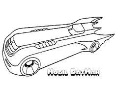 Batman Batmobile Begins Free Coloring Pages