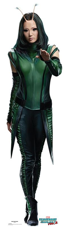 "MANTIS Cardboard Cutout Standup / Standee from ""Guardians of the Galaxy Vol 2 (2017)"" 