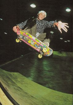 Mike Vallely.