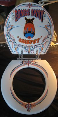 Kustom Toilet Seat VII by Fat Daddy Customs