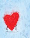 Andre illustrasjoner I Love Heart, Happy Heart, Crazy Heart, Lisa Congdon, Lisa Simpson, Mobile Wallpaper, Jar Of Hearts, Black Panther Art, Pastel Art