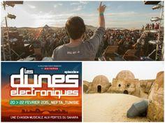 TUNESIEN: Tusindvis af unge samledes i februar 2014 i Mos Espa i den tunesiske Sahara-ørkenen på et sted, som er mest kendt som Luke Skywalkers hjemplanet i Star Wars-filmene. Det bliver gentaget i 2015. #ferie #rejser #Tunesien
