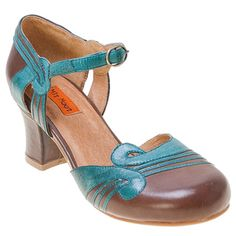 Blue Tobacco Brown Red Miz Mooz Women's Eloy Ankle-Strap Pump Shoe shoes