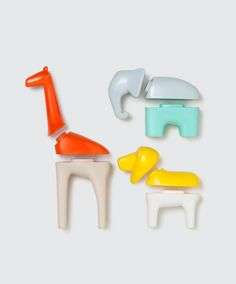 Mix + match animals parts by Kid O