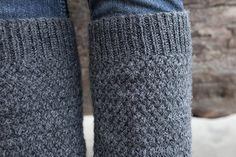 Defroster Leg Warmers - Knitting Patterns and Crochet Patterns from KnitPicks.com by Kerin Dimeler- Laurence