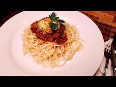 Bolognai spagetti , spaghetti / Szoky konyhája / - YouTube Spaghetti, Bologna, Pizza, Ethnic Recipes, Food, Youtube, Meal, Hoods, Noodle