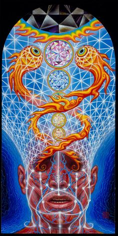 Alex Grey #visionaryart                                                                                                                                                                                 More