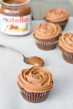 Nutella Cupcakes | PDXfoodlove