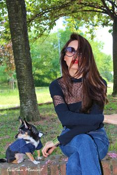 Bell bottom jeans | Cristina Mancort
