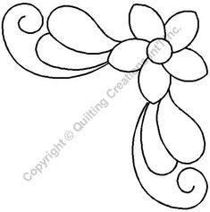 Quilting Stencils > Triagular & Fan - Item: on QuiltingCreations. Quilling Patterns, Stencil Patterns, Applique Patterns, Quilt Patterns, Tatting Patterns, Quilting Stencils, Quilting Templates, Quilting Tutorials, Machine Quilting Patterns