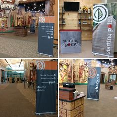 Faircreek Church uses their new banners to help direct people where they need to go! Church Signs, Church Banners, Portable Display, Retractable Banner, Kids Ministry, Banner Stands, Kids Church, Hospitality, Signage