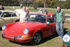 My dad and I with my (new to me at the time) '69 Porsche 912 (taken a few weeks after I got it in October 2006)
