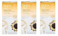Tazo Chai Tea Latte Concentrate (32 oz, 1 quart) - Pack of 3 -- Read more  at the image link. (This is an affiliate link and I receive a commission for the sales)