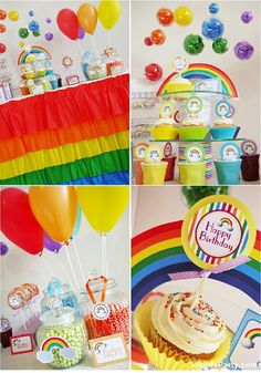 Rainbow Party - Perfect for St Paddy's Day Too