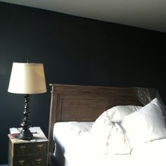 'flint' colored walls, Benjamin Moore Affinity collection