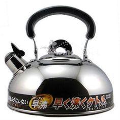Unique Ergonomic Handle 2.8L Stainless Steel Water Kettle