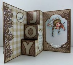 Peace and JOY 3-Step Card (view 2 of 2 - card inside)