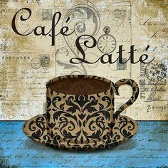 Framed Coffee Art Shop at FramedArt Café Latte, Latte Art, Coffee Cup Art, Coffee Poster, Coffee Artwork, I Love Coffee, My Coffee, Coffee Beans, Collages D'images