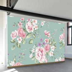 Flowers for Mom Wall Mural