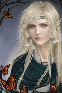 Liosalfar (light elves) Scandinavian and Teutonic mythology