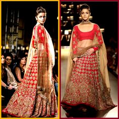 Astounding #AliaBhatt Ravishing Red Net And Georgette #Lehenga With Multi And Hand Work  #lehengacholi #bollywoodfashion #celebrityfashion #craftshopsindia