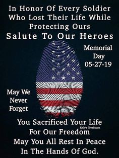 Let's not forget what memorial day is really about ❤🇺🇸 thank you to all the soldiers out there who put their life on the line for our freedom 💕 . Remember The Fallen, We Remember, Say A Prayer, Never Forget You, Daily Challenges, Happy Memorial Day, Life Thoughts, Rest In Peace, God Bless America