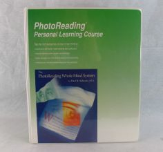 PhotoReading Personal Learning Course Improve Reading Audio Course Speed Photo