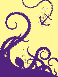 octo Stretched Canvas