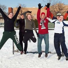 Flashback to soccer addicted girls and thier dads playing an annual snow soccer game in December! Ahh the glorious slippery hilarious mess those games were!! . #athletes #snowsoccer #soccer #football #snow #winter #wintersports #throwback #flashback #fbf #team #dads #daughters #soccerplayers #obsessed