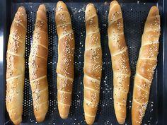 Rezept ergibt ca. 6 Stk a` Hot Dog Buns, Hot Dogs, Bakery, Rolls, Food And Drink, Bread, Sweet, 20 Min, Dessert