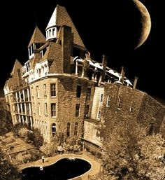 Haunted: The 1886 Crescent Hotel and Spa Eureka Springs, Ark. professional ghost hunters from the television show proclaimed this luxury hotel-turned-school-turned-cancer-hospital-turned-hotel as the third most haunted building they had ever investigated. The hotel is one of the only places the team supposedly caught a full-bodied apparition on infrared camera. very scary