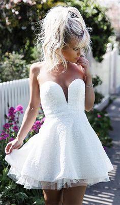 2017 homecoming dresses,white homecoming dresses,lace homecoming dresses,short prom dresses,country homecoming dresses @simpledress2480