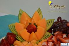 Fruit decoration - Decoraciones de fruta