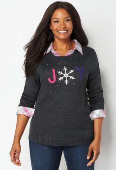 JOY Holiday Pullover