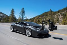 Lamborghini Huracan Turned Into World's-Fastest Camera Car