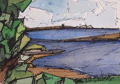 Galvin Harrison  ELYSIUM work on paper.