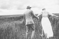 Image by James Melia Photographers - The bride wearing the Alice by Temperley Long Hemingway Lace Back Dress from SS14
