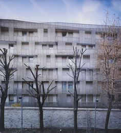 Student Hall of Residence + Family Homes / Babled Nouvet Reynaud Architectes