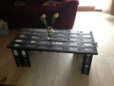 Video tape table