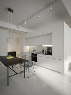 déco de cuisine en noir et blanc