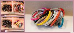Haargummis ordnen ***by: www.missmommypenny.de*** organizing hairbands